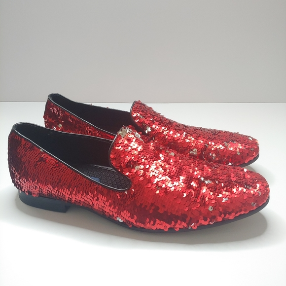 Redsilver Sequin Loafers